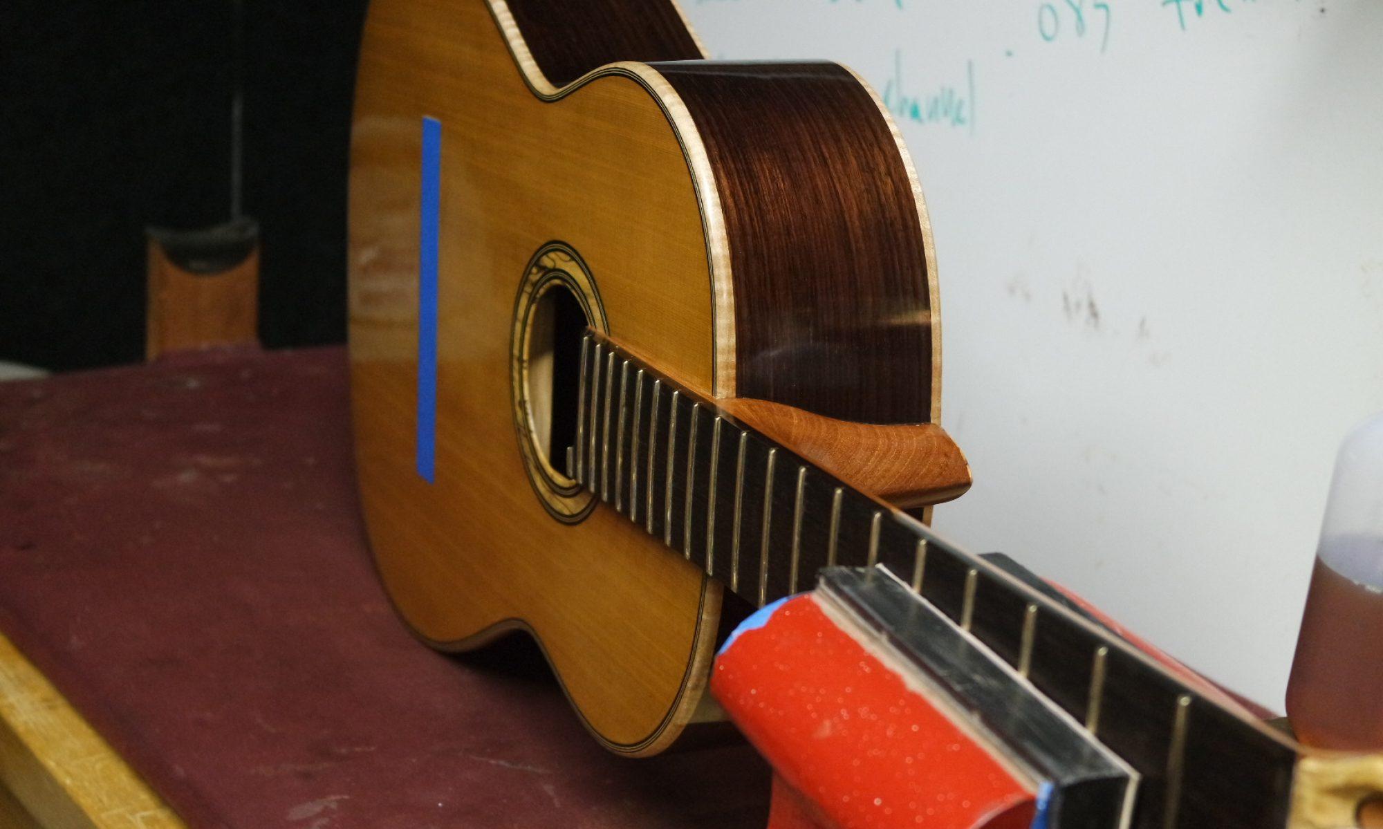 Kenneth E. Whisler, Luthier & Performer